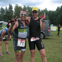 RMK Kõrvemaa Triatlon - Melvin Sinirand (77), Ago Teder (78)