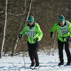 43. Tartu Maraton - Erkki Törmänen (4631), Marja-Liisa Törmänen (4633)