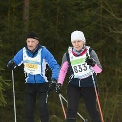 43. Tartu Maraton - Anneli Sitska (8337), Jaan Ots (9463)