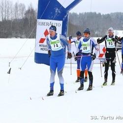 38. Tartu Maraton - Veljo Kärbo (44), Rauno Tiimann (49), Jussi Heikkinen (74), Andre Mets (93), Marko Albert (184)