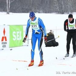 38. Tartu Maraton - Martin Maaroos (135), Ando Stimmer (577)