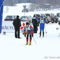 38. Tartu Maraton - Erki Täht (241), Alar Lehesmets (409)