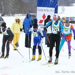 38. Tartu Maraton - Eero Saari (547), Madis Müürsepp (742)