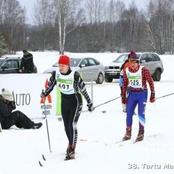 38. Tartu Maraton - Anatoli Stõkailo (525), Vineta Vitola (697)
