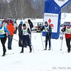 38. Tartu Maraton - Ando Post (560), Heddy Riismaa (841), Karel Lõhmus (3019)