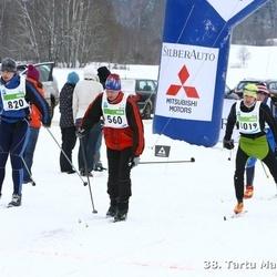 38. Tartu Maraton - Ando Post (560), Martin Absalon (820)