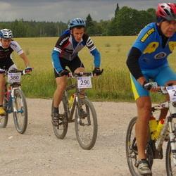 Kalevipoja rattamaraton 2012 - Margus Kivirüüt (290), Aarne Tiit (380)
