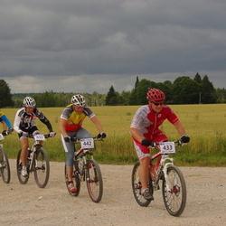 Kalevipoja rattamaraton 2012 - Ago Ilves (433), Aimar Annion (437), Marek Valdner (442), Henrik Rikkas (487), Rain Nurmsalu (730)