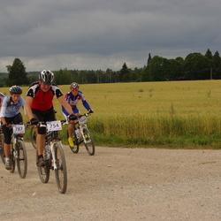 Kalevipoja rattamaraton 2012 - Marko Tiiman (754), Kärt Aavel (787), Priit Raidvee (880), Arno Bachaus (1049)