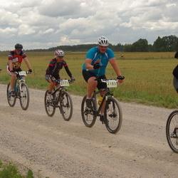 Kalevipoja rattamaraton 2012 - Ethel Ansip (2173), Epp Kuslap (2178), Urmas Lillimägi (2183), Benno Keskpalu (2197), Andreas Toomik (2230)