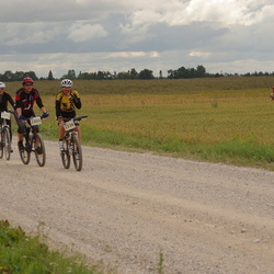 Kalevipoja rattamaraton 2012 - Kadri Ukrainski (2272), Arne Kaasik (2303), Sibelle Aak (2336)