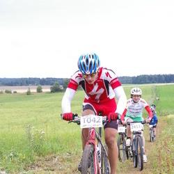 Kalevipoja rattamaraton 2012 - Arnis Petersons (1042), Margit Nurk (2453)