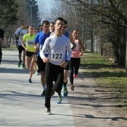 Tartu Parkmetsa jooks - Andres Nöps (122), Kurmo Roosimäe (175), Birgit Pihelgas (300)