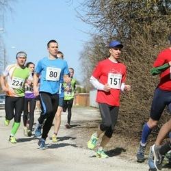 Tartu Parkmetsa jooks - Arvi Kiik (80), Urmas Ärm (151), Björn Puna (224)