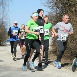 Tartu Parkmetsa jooks - Aavo Hõbe (185), Andrei Lopsik (244), Sander Lehtsaar (276), Kaire Kallak (368), Keio Soosaar (370), Jaanus Erm (448)
