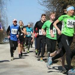 Tartu Parkmetsa jooks - Aavo Hõbe (185), Andrei Lopsik (244), Kaire Kallak (368), Jaanus Erm (448)