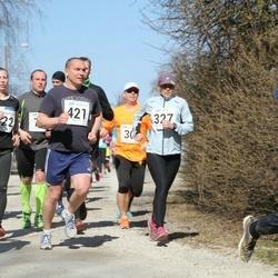 Tartu Parkmetsa jooks - Eve Jaeski (327), Aaron Wendland (421), Liina Malva (422)