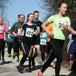 Tartu Parkmetsa jooks - Viivika Leppik (382), Aaron Wendland (421), Liina Malva (422)