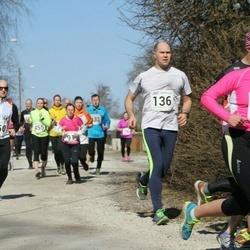 Tartu Parkmetsa jooks - Kaidu Vasar (136), Arturas Vovaris (350), Tiia Palm (373)