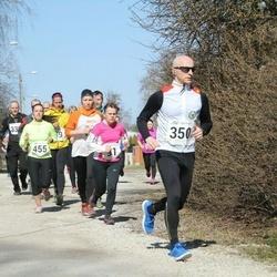 Tartu Parkmetsa jooks - Marianne Leotoots (19), Aire Riives (91), Arturas Vovaris (350), Karolyn Rillo (455)