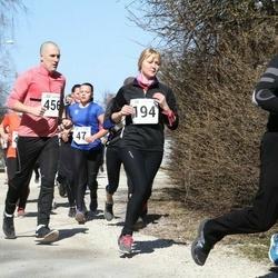 Tartu Parkmetsa jooks - Margit Partei (47), Birgit Lausing (194), Olle Kütt (456)