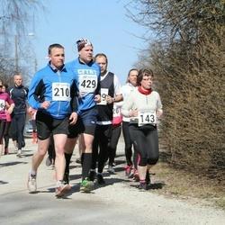 Tartu Parkmetsa jooks - Soile Sild (53), Jane Tamm (143), Jaanu Mühlberg (210), Ando Sõrmus (429)