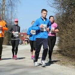 Tartu Parkmetsa jooks - Annika Nõmme (326), Indrek Kaju (377), Siim Randoja (416)