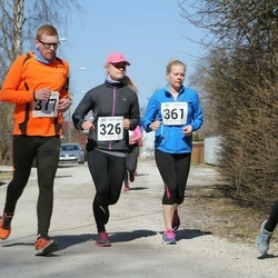 Tartu Parkmetsa jooks - Getter-Amalie Martinson (171), Annika Nõmme (326), Kaisa Parm (361)