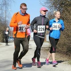 Tartu Parkmetsa jooks - Annika Nõmme (326), Kaisa Parm (361), Indrek Kaju (377)