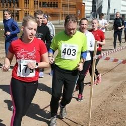 Tartu Parkmetsa jooks - Liina Leiger (179), Raul Enn (403)