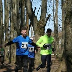 Tartu Parkmetsa jooks - Martin Mäe (219), Marek Habakuk (251)