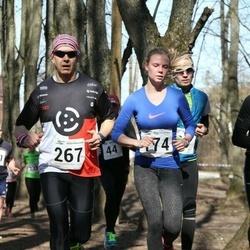 Tartu Parkmetsa jooks - Kaidi Käämer (174), Kaido Peiker (267)