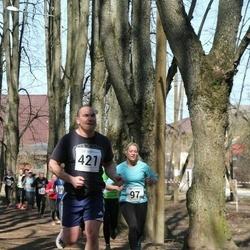 Tartu Parkmetsa jooks - Eveli Rebane (97), Aaron Wendland (421)