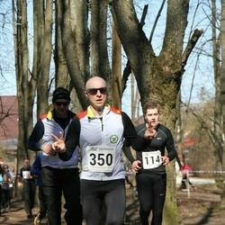 Tartu Parkmetsa jooks - Kaarel Kuljus (114), Arturas Vovaris (350)