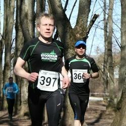 Tartu Parkmetsa jooks - Jüri Jõul (366), Richard Peterson (397)