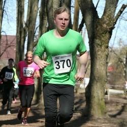Tartu Parkmetsa jooks - Eve Jaeski (327), Keio Soosaar (370)