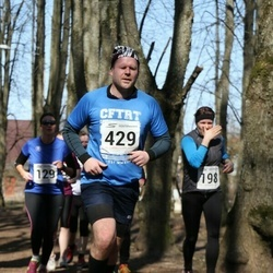 Tartu Parkmetsa jooks - Gerda Sillaste (198), Merike Vestmann (207), Ando Sõrmus (429)