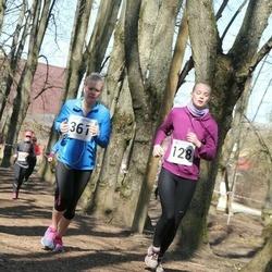Tartu Parkmetsa jooks - Aune Lõo (128), Kaisa Parm (361)