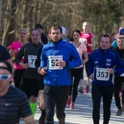Tartu Parkmetsa jooks - Tanel Pärnamets (52), Ahto Jaska (353), Aaron Wendland (421)