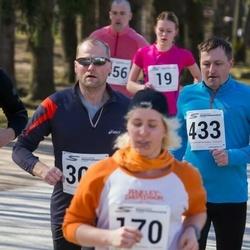 Tartu Parkmetsa jooks - Anni Leiger (170), Aivo Agu (433)
