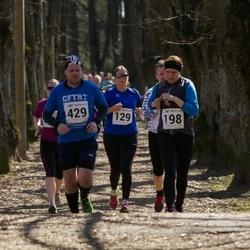Tartu Parkmetsa jooks - Maria Sarv (129), Ando Sõrmus (429)