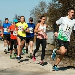 Tartu Parkmetsa jooks - Kaisa Kukk (8), Kajar Tilga (100), Birgit Pihelgas (300), Aivo Agu (433)