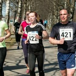 Tartu Parkmetsa jooks - Aaron Wendland (421), Liina Malva (422)
