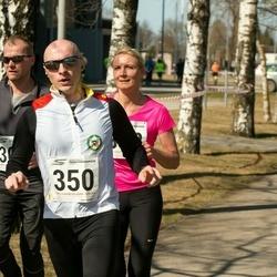 Tartu Parkmetsa jooks - Valdur Männiste (303), Arturas Vovaris (350)