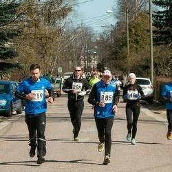 Tartu Parkmetsa jooks - Aavo Hõbe (185), Martin Mäe (219), Meelis Toomeoks (288)