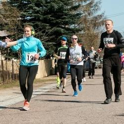 Tartu Parkmetsa jooks - Lora Sulg (192), Meelis Sõukand (336), Arturas Vovaris (350), Jüri Jõul (366)