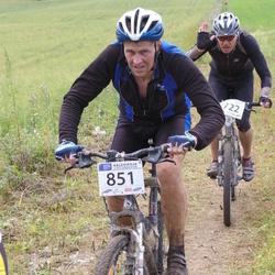 Kalevipoja rattamaraton 2012 - Ando Kuusik (722), Andrus Vonk (851)
