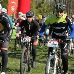I Kõlleste rattamaraton - Allan Oras Cup - Valdo Käos (144), Tarmo Leeman (150), Aivar Villemson (208)