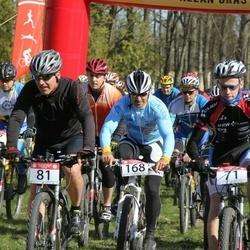 I Kõlleste rattamaraton - Allan Oras Cup - Rain Vaard (71), Arne Rehi (81), Marko Pukk (168)