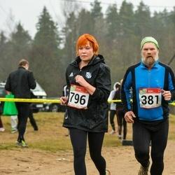 RMK Kõrvemaa Kevadjooks - Aare Tinn (381), Marika Kuldjärv (796)